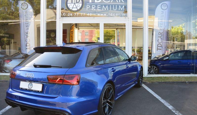 Audi RS6 Avant 4.0 TFSi Performance Quattro S-Tronic complet
